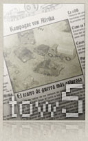 Ver Times of War Num. 5 - Flames of war, revista electronica (ezine) de wargames