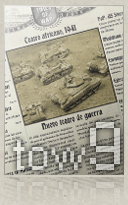 Ver Times of War Num. 9 - Flames of war, revista electronica (ezine) de wargames
